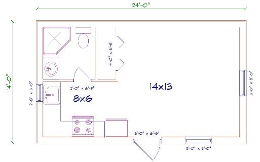 Floor plans for barndominiums joy studio design gallery for 14x24 cabin plans