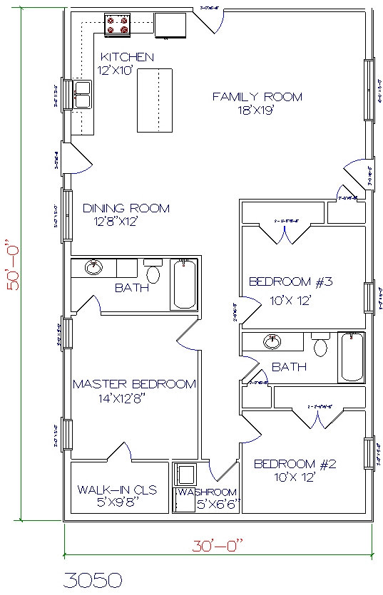 Barndominium Floor Plans 40x60 Joy Studio Design Gallery