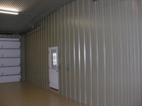 Metal Partion Wall in Barndominium